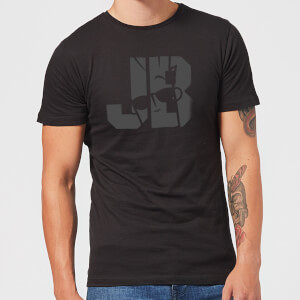 Johnny Bravo JB Sillhouette Men's T-Shirt - Black