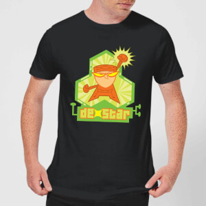 Dexters Lab DexStar Hero Men's T-Shirt - Black