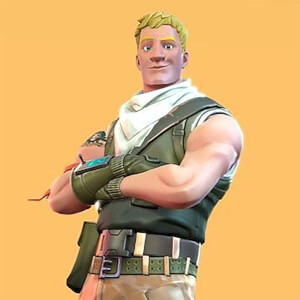 "McFarlane Toys Fortnite Jonesy 7"" Action Figure"
