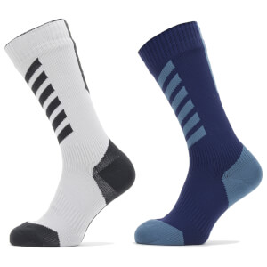 Sealskinz Cold Weather MTB Mid Length Socks with Hydrostop