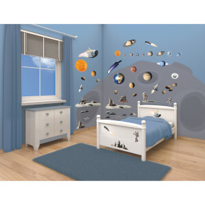 Walltastic Space Adventure Room Décor Kit