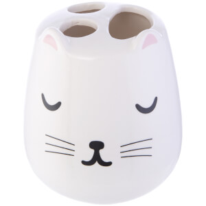 Sass & Belle Cutie Cat Toothbrush Holder