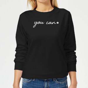 GLOSSYBOX Empowerment Edition Women's Sweatshirt 'You Can' - Black