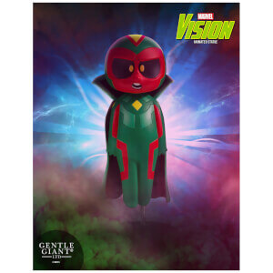 Gentle Giant Marvel Avengers Vision Animated Statue - 15cm