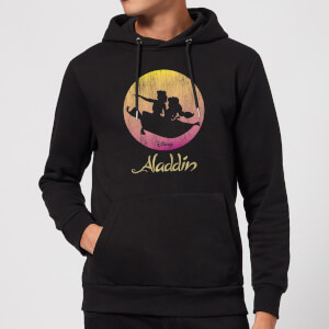Disney Aladdin Flying Sunset Hoodie - Black