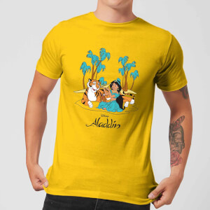 Disney Aladdin Princess Jasmine Herren T-Shirt - Yellow