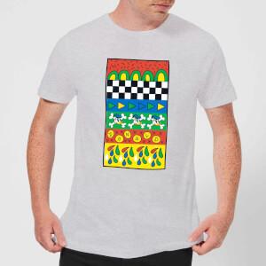 Donald Duck Vintage Pattern Men's T-Shirt - Grey
