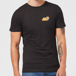 Disney Winnie The Pooh Backside Men's T-Shirt - Black