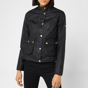 Barbour International Women's Livingo Wax Jacket - Black