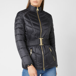 Barbour International Women's Morzine Quilt Jacket - Black