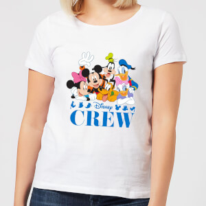 Disney Crew Women's T-Shirt - White