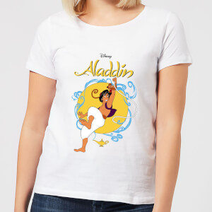 Disney Aladdin Rope Swing Women's T-Shirt - White