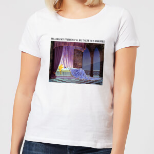 Disney Sleeping Beauty I'll Be There In Five Women's T-Shirt - White