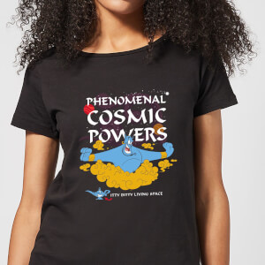 Disney Aladdin Phenomenal Cosmic Power Women's T-Shirt - Black