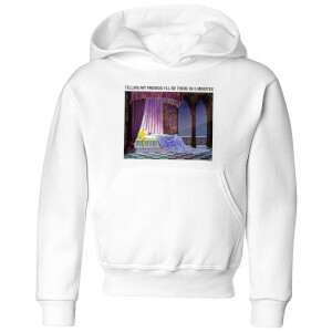 Disney Sleeping Beauty I'll Be There In Five Kids' Hoodie - White