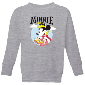 Disney Mickey Mouse Queen Minnie Kinder Sweatshirt - Grau