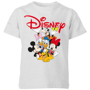 Mickey Mouse Disney Crew Kids' T-Shirt - Grey