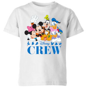 Disney Crew Kinder T-Shirt - Weiß