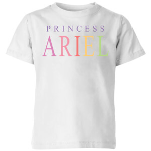 Disney The Little Mermaid Princess Ariel Kids' T-Shirt - White