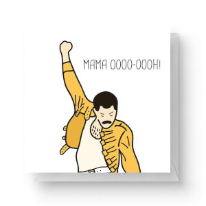 Mama Oooo-oooh! Square Greetings Card (14.8cm x 14.8cm)