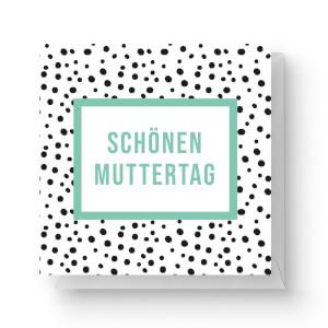 Schönen Muttertag Square Greetings Card (14.8cm x 14.8cm)