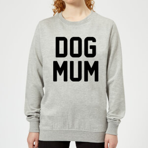 Dog Mum Women's Sweatshirt - Grey