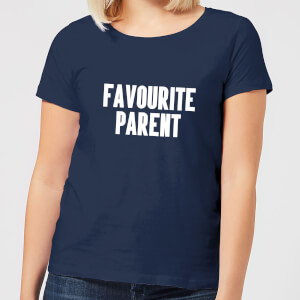 Favourite Parent Women's T-Shirt - Navy