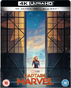 Capitana Marvel 4K (incluye Blu-ray 2D) - Steelbook Edición Limitada Exclusivo Zavvi (Edición GB)