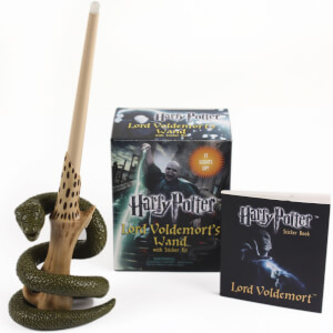Kit Harry Potter – Baguette de Voldemort avec autocollants