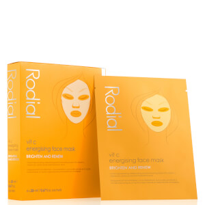 Rodial Vitamin C Cellulose Sheet Masks (Pack of 4, Worth $72)