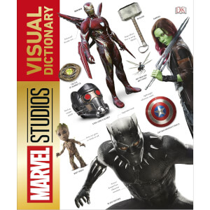 Marvel Studios: The Visual Dictionary (Hardback)