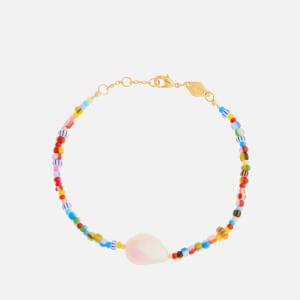 Anni Lu Women's Alaia Baroque Pearl Bracelet - Multi