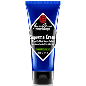 Jack Black Supreme Cream Triple Cushion Shave Lather 88ml (Free Gift)