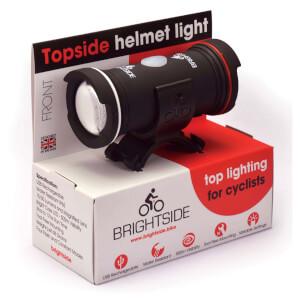 Brightside Topside USB Rechargeable Front or Rear Helmet Bike Light