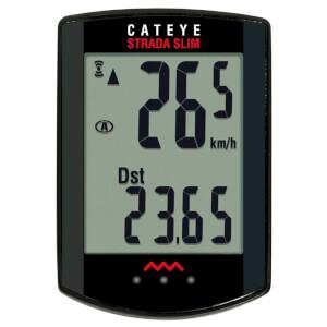 Cateye Strada Slim Wireless Computer - Black