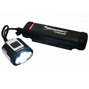 Moon X-Power LAA545 1800 High Power Rechargeable Front Bike Light