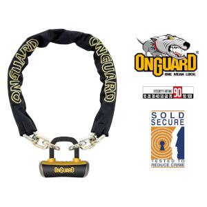 OnGuard Mastiff 8019 Bike Chain U-Lock - 110cm x 10mm