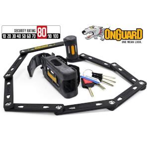 OnGuard 8114 K-9 Heavy Duty Link Plate Lock - 112.5cm