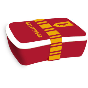 Harry Potter Bamboo Lunch Box - Gryffindor