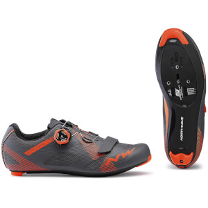 Northwave Storm Road Shoes - Anthracite/Lobster