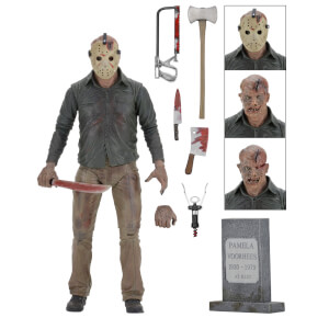 "NECA Friday the 13th - 7"" Action Figure - Ultimate Part 4 Jason"