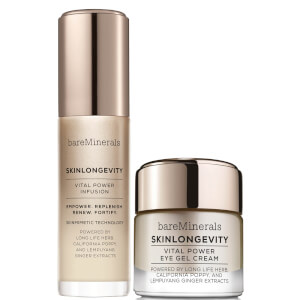 bareMinerals Glowing Skin Must Haves: Serum and Eye Cream