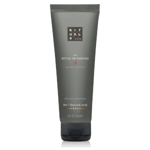 The Ritual of Samurai Face Charcoal Scrub 125ml