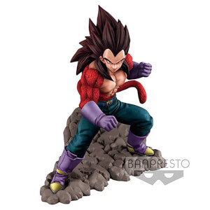 Banpresto Dragon Ball GT Super Saiyan 4 Vegeta Statue