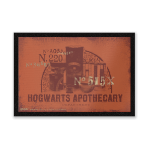 Harry Potter Hogwarts Apothecary Entrance Mat