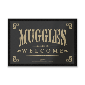 Harry Potter Muggles Welcome mat
