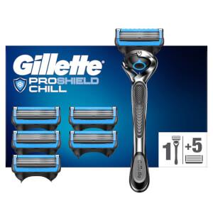 Gillette ProShield Chill Rasierer mit 6 Klingen