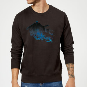 Harry Potter Dementor Silhouette Sweatshirt - Black