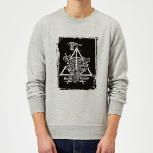 Harry Potter Three Brothers Sweatshirt - Grey