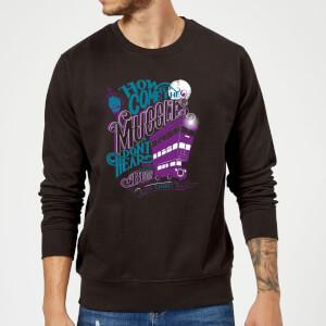 Harry Potter Knight Bus Sweatshirt - Black
